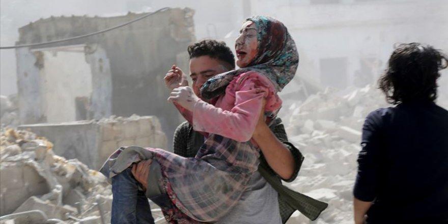 İdlib'e Saldıran Cani Esed Rejimi 4 Sivili Katletti!