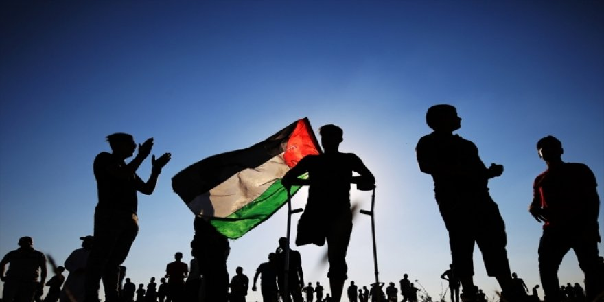 Siyonistler Gazze'de 46 Filistinliyi Yaraladı
