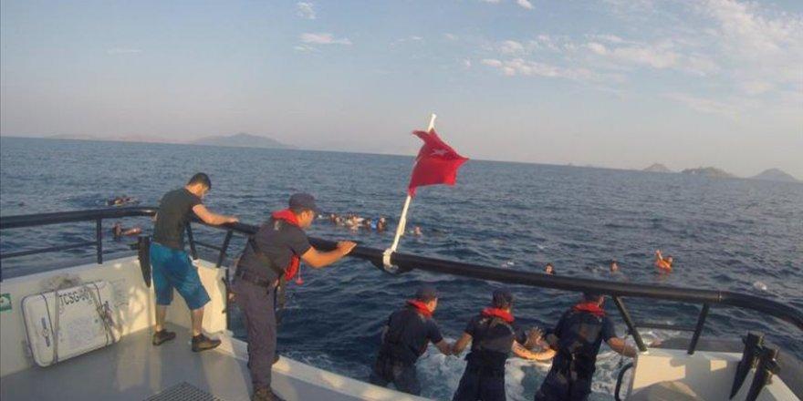 Bodrum'da Göçmenleri Taşıyan Tekne Battı: 8 Ölü