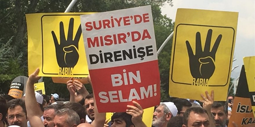 Ankara'da Mursi İçin Gıyabi Cenaze Namazı
