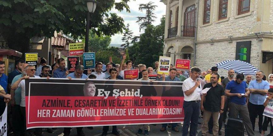 Bartın'da Muhammed Mursi için Gıyabi Cenaze Namazı