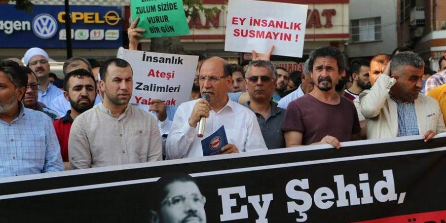 Adana'da Mursi İçin Gıyabi Cenaze Namazı Kılındı
