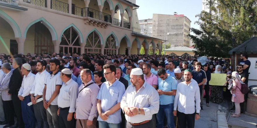 Van'da Mursi İçin Basın Açıklaması ve Gıyabi Cenaze Namazı