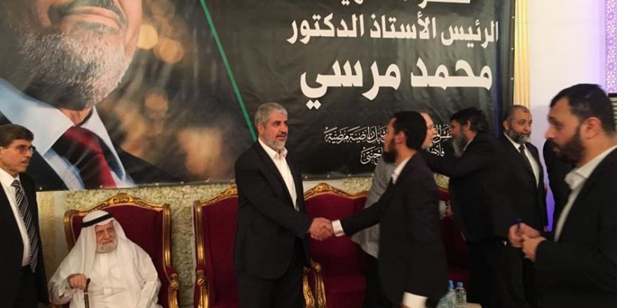 Halid Meşal: Mursi Daima Filistin'i Savundu