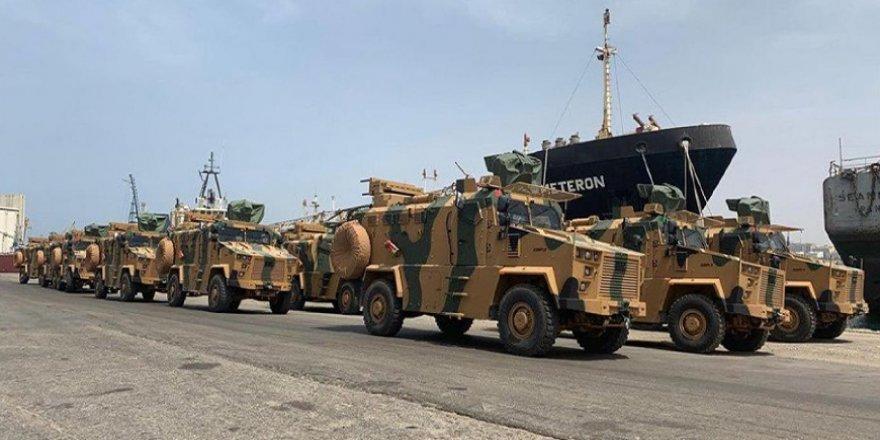 Türkiye'den Libya'ya Silah ve Askeri Ekipman Gönderildi