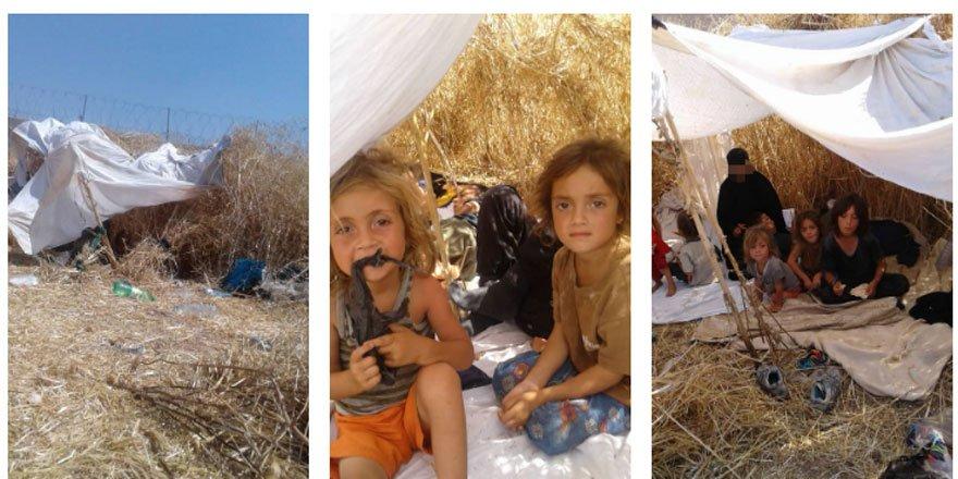 PKK'dan Kaçan 3 Kadın 8 Çocuğun Türkiye'ye Alınmadığı İddia Edildi