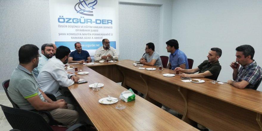 Filistin Vakfı'ndan Diyarbakır Özgür-Der'e Ziyaret