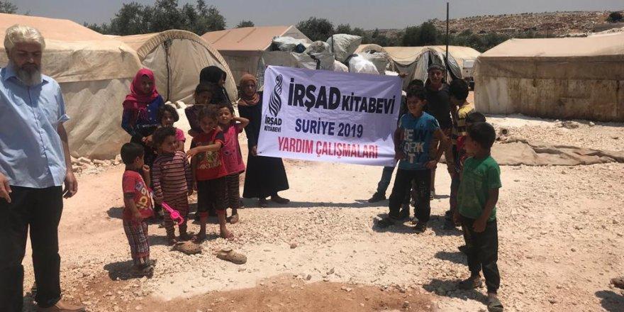 İrşad Kitabevi'nden Suriyeli Yetimlere Yardım