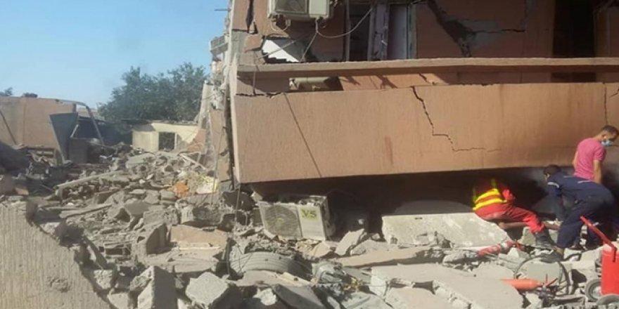 Libya'da Hafter Sivil Yerleşim Yerlerini Bombalıyor