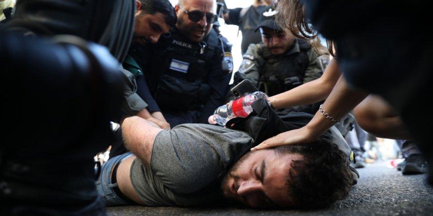 İsrail'de Irkçılık Karşıtı Gösteriler Sürüyor