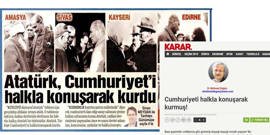 Cumhuriyeti Hangi Halkla Konuşarak Kurdu?