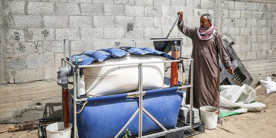 Gazze'de Hayvan Gübresinden Biyogaz Üretiyorlar