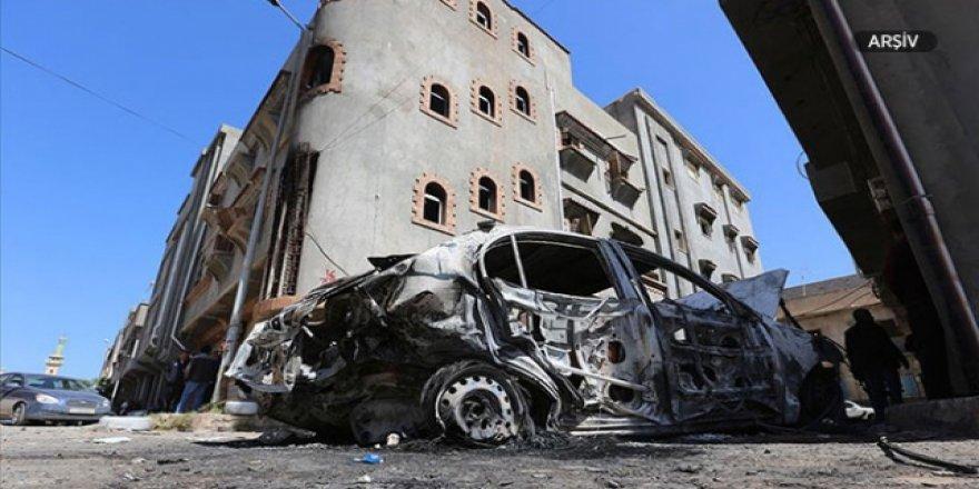 Hafter Güçlerinden Giryan Kentine Hava Saldırısı