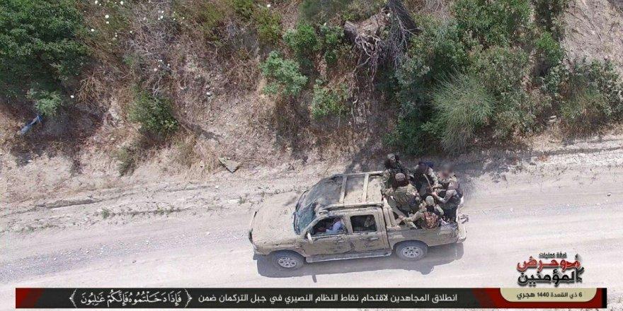 Muhaliflerin Türkmendağı'nda Başlattığı Operasyon Sürüyor