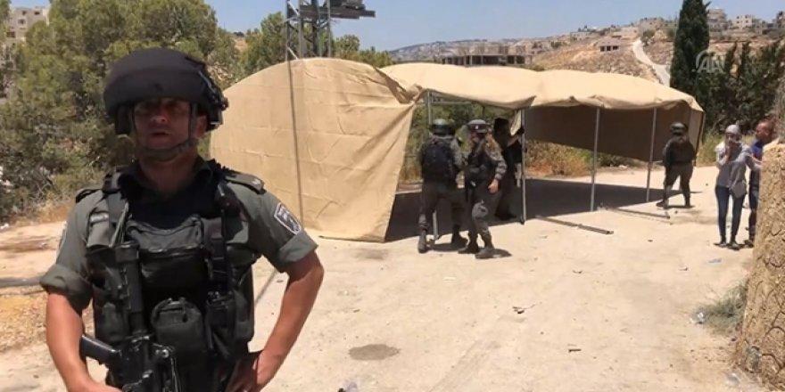 Siyonistlerden Kudüs'te Filistinli Aktivistlere Müdahale