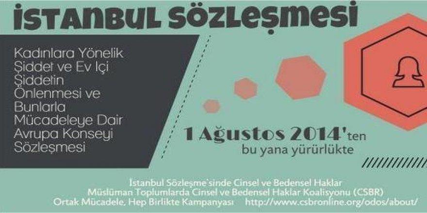 'İstanbul Sözleşmesi'nin Feshi Talebiyle Yürüyecekler