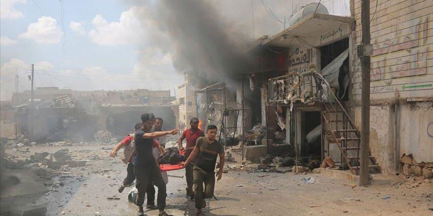 İşgalci Rusya İdlib'de Rejime Kara Gücüyle de Destek Veriyor