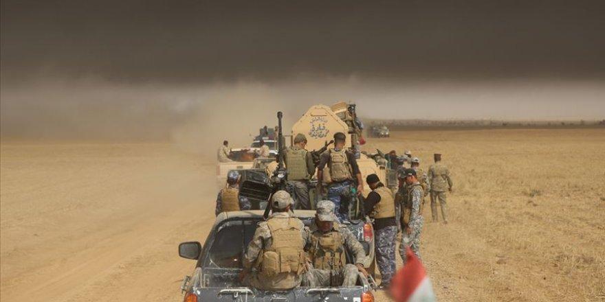 Irak'ta Haşdi Şabi Çetesine Saldırı