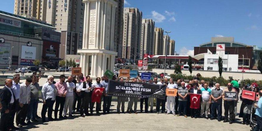 Başakşehirli STK'lar: İstanbul Sözleşmesi Feshedilsin!