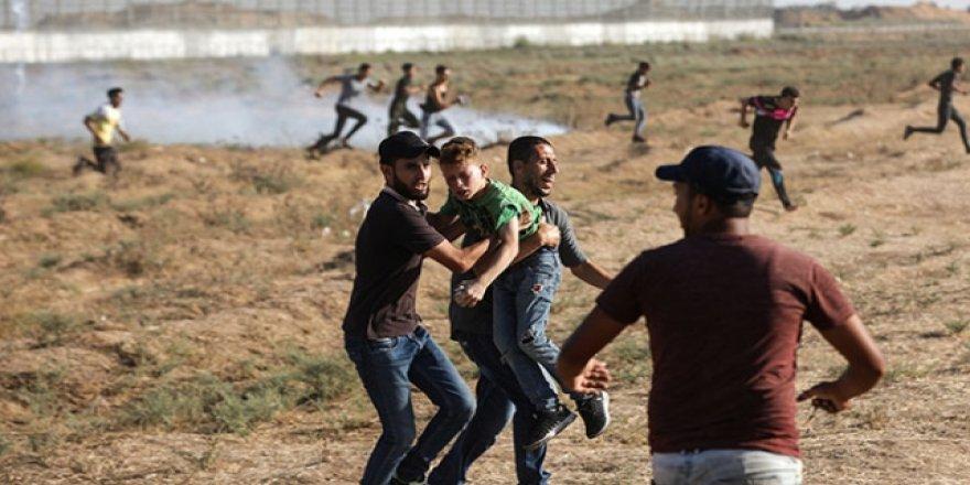 İşgalci İsrail Güçleri 87 Filistinliyi Yaraladı