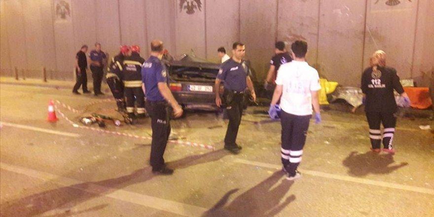 Konya'da İki Otomobil Çarpıştı: 7 Ölü