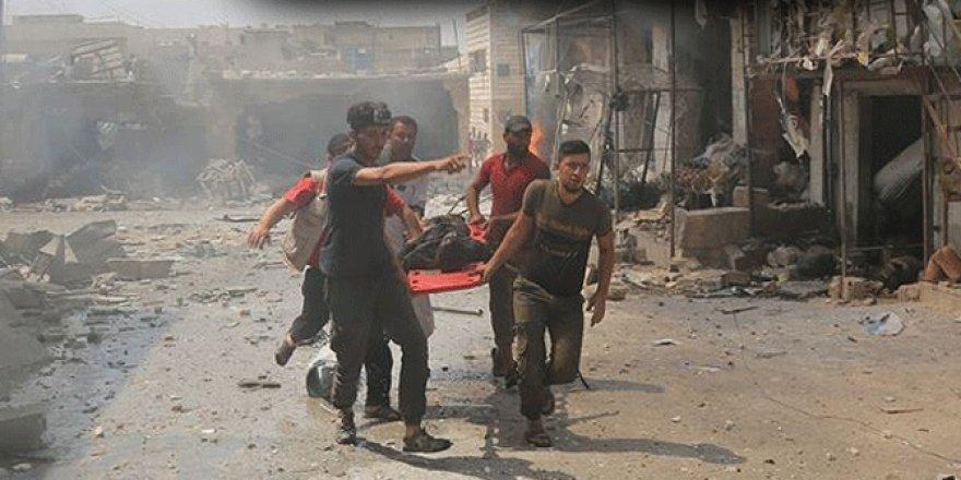 Rusya ve Esed'den İdlib'e Şiddetli Hava Saldırıları: 17 Ölü