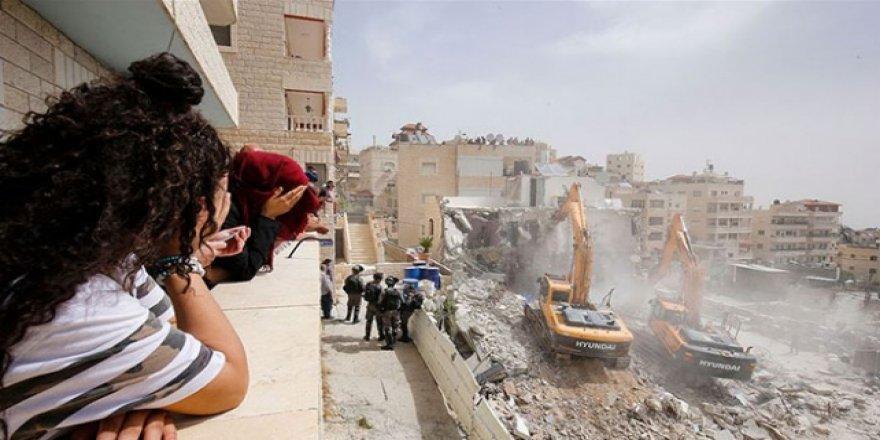 İşgalci İsrail Mahkemesinden Doğu Kudüs'te 16 Binanın Yıkımına Onay