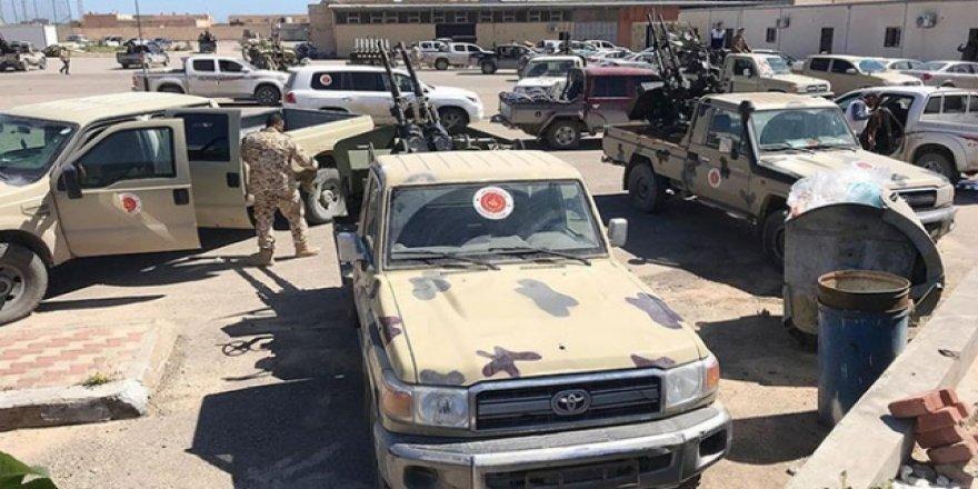 UMH, Hafter Güçlerinin Hava Saldırısını Püskürttü