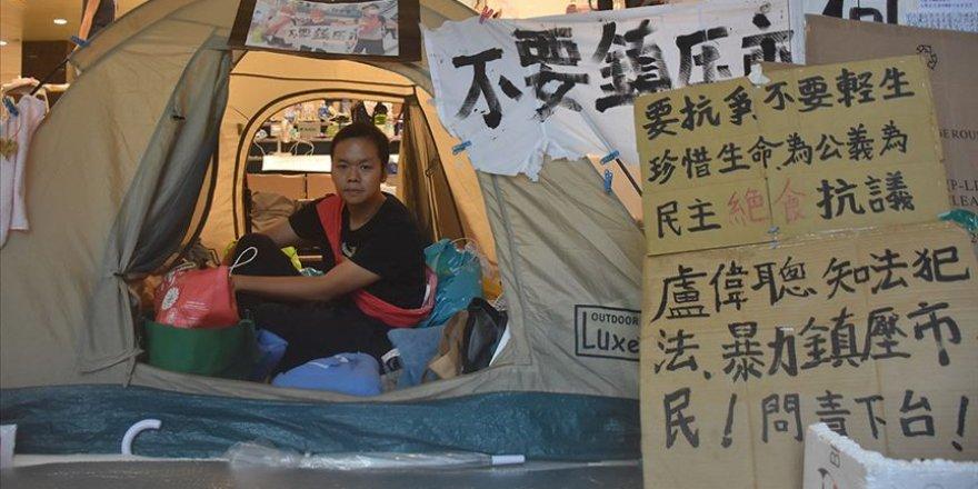 Hong Konglu Aktivist Çin'e İade Tasarısının İptali İçin Açlık Grevinde
