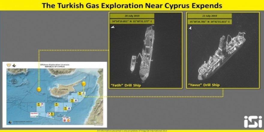 İsrail Bu Defa da Akdeniz'deki Türkiye'ye Ait Gemilerin Uydu Görüntülerini Yayınladı