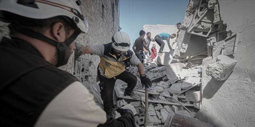 İdlib'e Yoğun Hava Saldırıları: 7 Kişi Hayatını Kaybetti