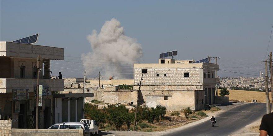 Bombardıman Altındaki İdlib'de Cuma Kılınamadı