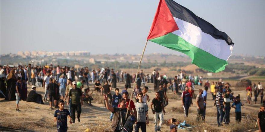 İşgal Güçleri Gazze'de Göstericilere Ateş Açtı: 1 Ölü, 55 Yaralı