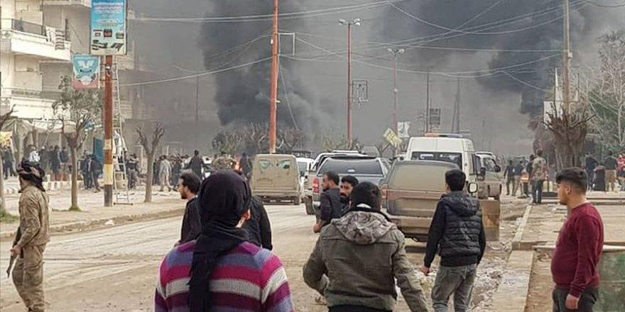 Afrin'de Patlama: 1 Kişi Hayatını Kaybetti