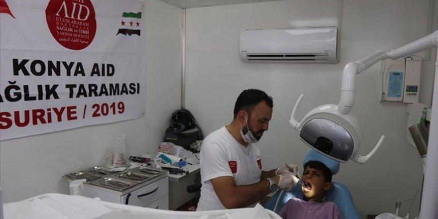 AID Tarafından Suriye'de 140 Kişinin Dişine Dolgu Yapıldı