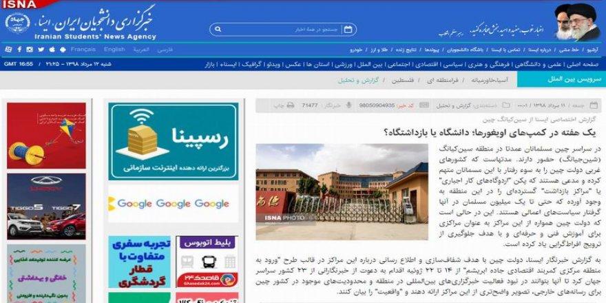 İran, Doğu Türkistan Zulmünde de Çin'in Yanında… Şaşırdık mı? Hayır…