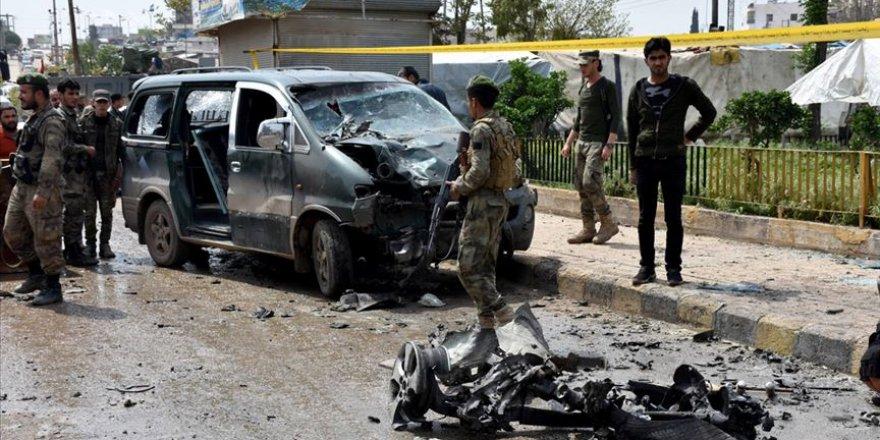 Azez'de Patlama: 1 Ölü