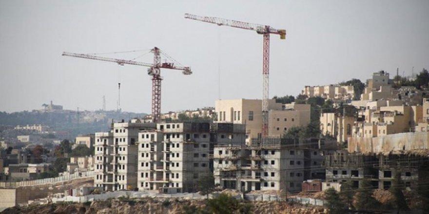 İsrail'den Batı Şeria'da 2 Bin 300 Yasa Dışı Konut İnşasına Onay