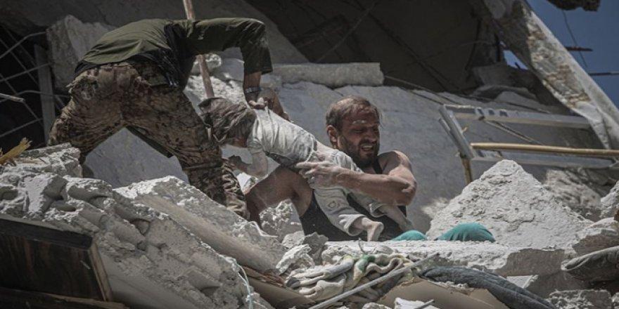 İdlib Bombardıman Altında Bayrama Giriyor