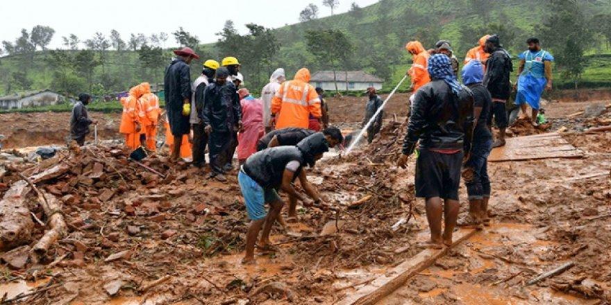 Hindistan'daki Sel ve Heyelanlarda 125 Kişi Yaşamını Yitirdi