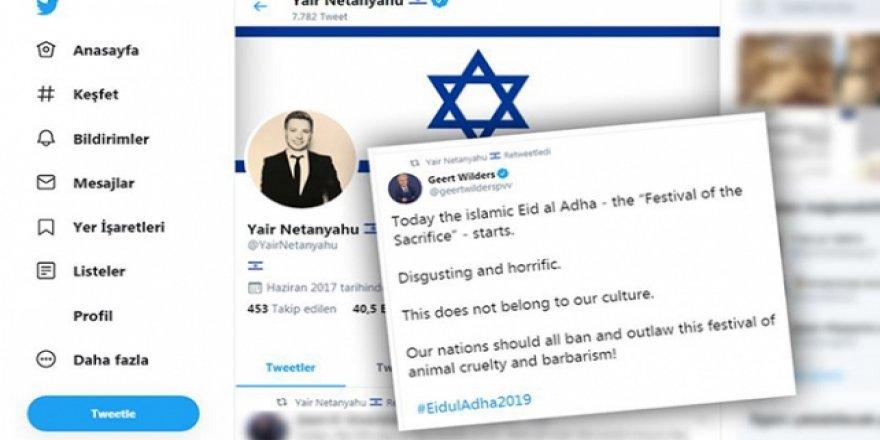 Netanyahu'nun Oğlundan İslam Karşıtı Paylaşıma Destek
