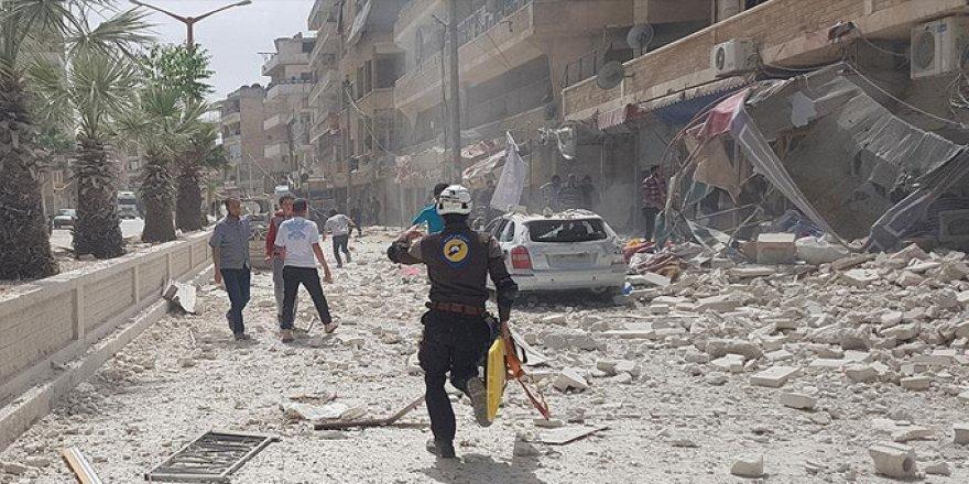 İdlib'te Rejim Çocukların Üstüne Çivi Bombası Yağdırıyor!