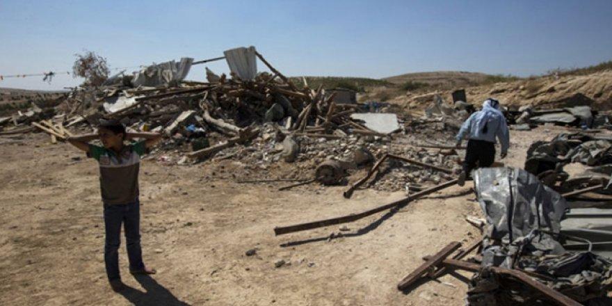 İşgalci İsrail, Filistinli Bedevileri Sürgün Ediyor