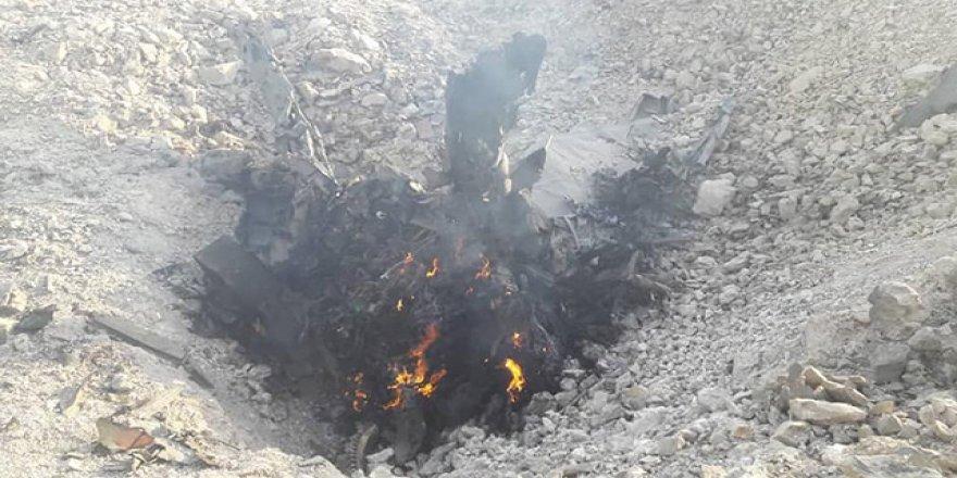 Mazlumlara Ölüm Yağdıran Esed'in Katilleri Bu Kez Havada Avlandı!