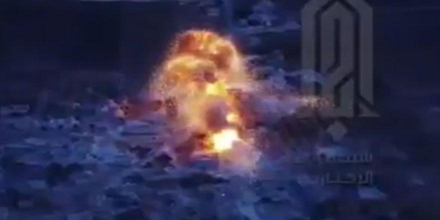 HTŞ'den Madaya'da Rus ve İran Destekli Esed Güçlerine Bombalı Araç Eylemi