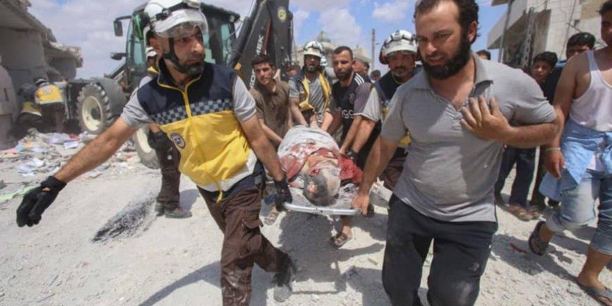 Esed Rejimi ve Rusya İdlib'te 5 Sivili Katletti