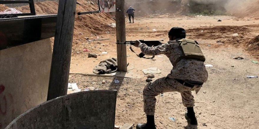 Libya'da Hafter Güçleriyle UMH Arasında Çatışma