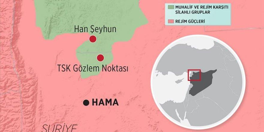 Esed Rejimi Rusya'nın Desteğiyle Han Şeyhun'u İşgal Etti