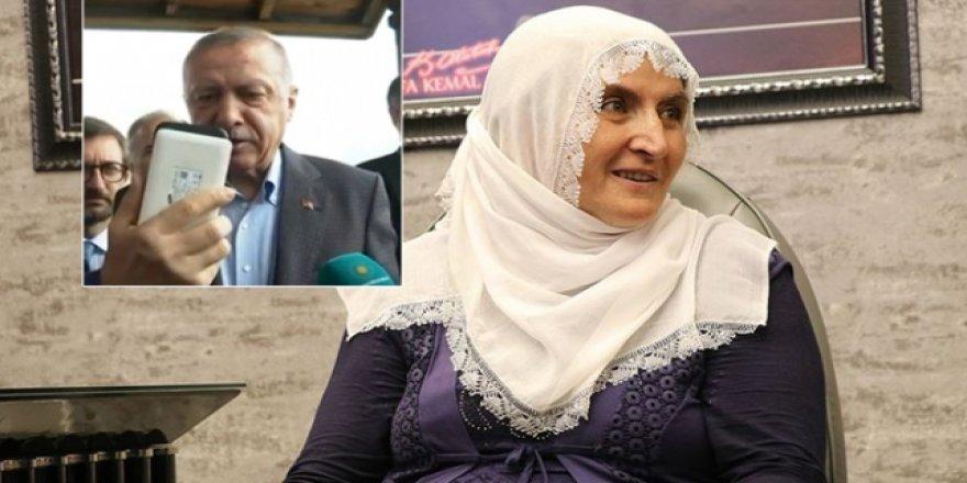 Cumhurbaşkanı Erdoğan Hacire Anne İle Görüştü