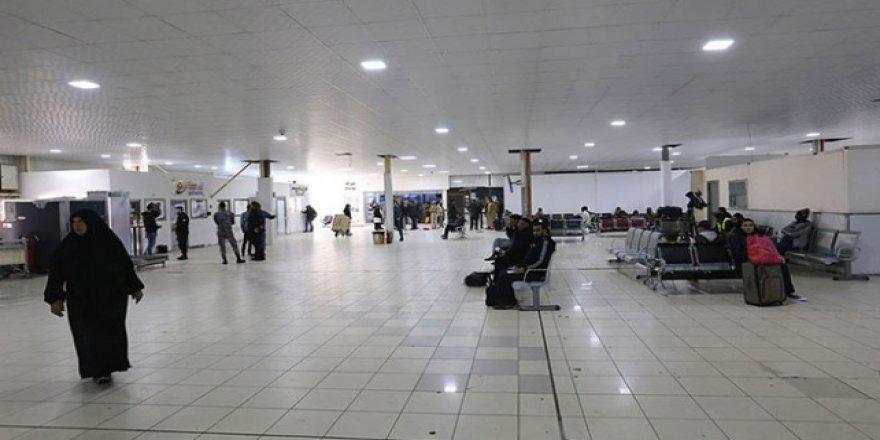 Mitiga Havalimanı'ndan Uçuşlar Durduruldu